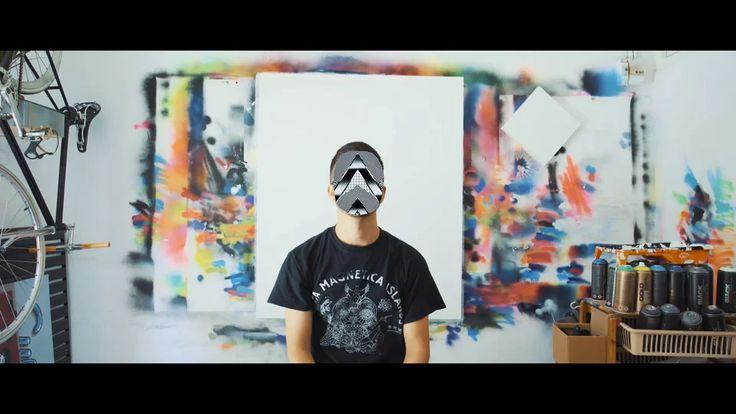 Felipe Pantone Street art (5m) (lang: doesn't give)