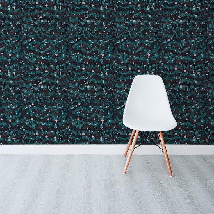 Rain Splatter Forest - Robin Sprong Wallpapers