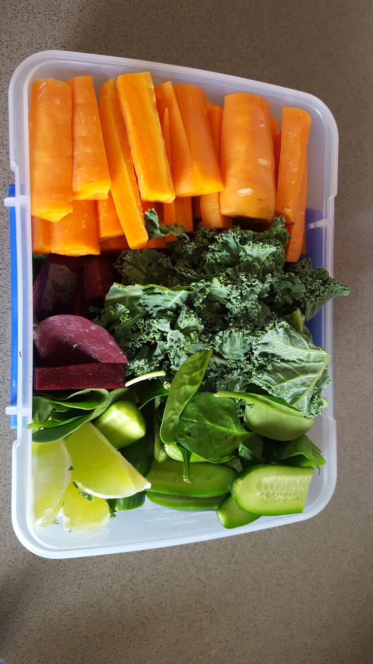 Juice Preparation-Carrot, beets, kale, spinach, cucumber, lime