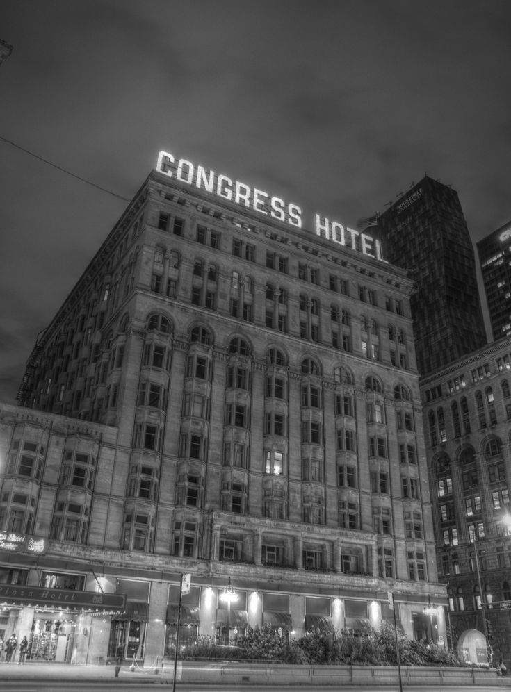 The Congress Plaza Hotel In Chicago Illinois Is Known As One Of America S Most Haunted Hotels It Has Seen Countless Since Its Opening When