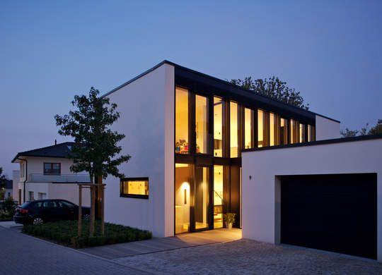 Energiesparende Architektur mit Ziegeln - ohne zusätzliche Außendämmung