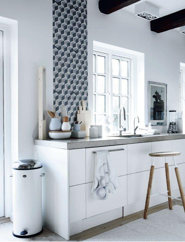 La maison d'Anna G.: 1 kitchen - 3 styles