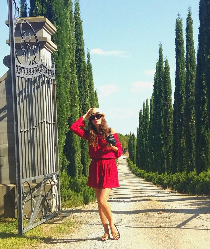 My summer fashion Tuscany