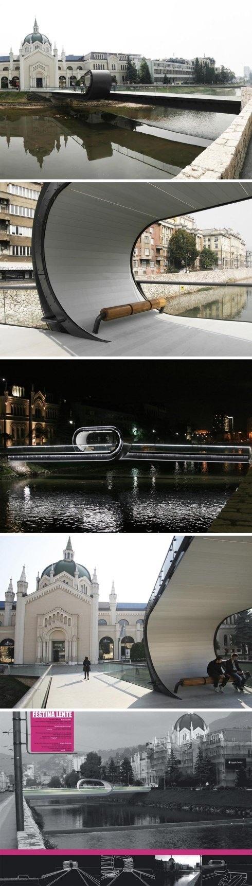 Festina Lente pedestrian bridge