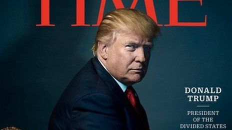 Time Magazine disputes US President Donald Trump's account of how he rejected a photo shoot.