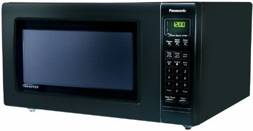 Panasonic NN-H765BF Genius 1.6 cuft 1250-Watt Sensor Microwave with Inverter Technology, Black | Kitchenwarecide Store