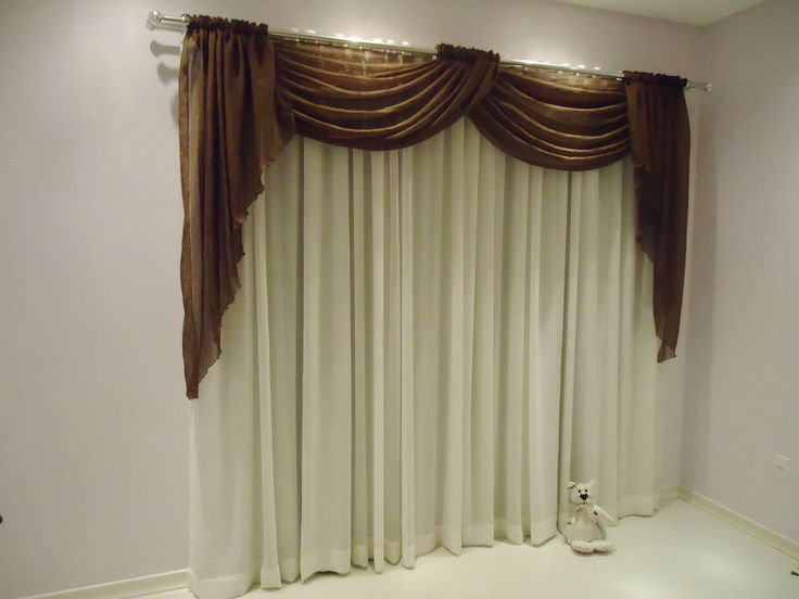 M s de 25 ideas fant sticas sobre cortinas modernas para for Como hacer cortinas de salon