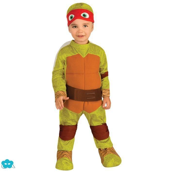 Disfraz de Raphael tortuga Ninja bebé