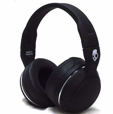 ﹩39.97. New Skullcandy Hesh 2 Bluetooth Wireless Headphones Headset With Mic Black    Earpiece Design - Ear-Cup (Over the Ear), Features - Adjustable Headband, Fit Design - Headband, Connectivity - Bluetooth Wireless, Color - Black, Type - Headset, Use - Portable Audio, Bundled Items - Charger, UPC - 878615099906