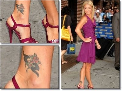 Kelly Ripa tattoo