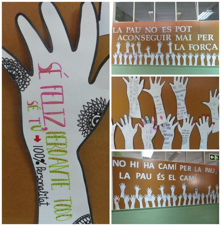 Dia escolar de la pau i la no violència -31 de gener. Etapa de  l'ESO.