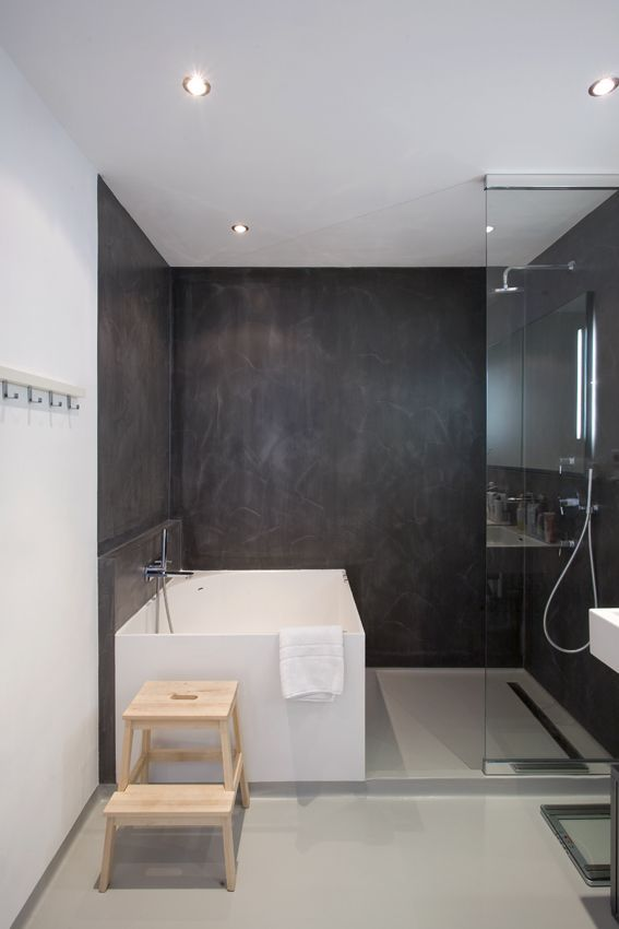 35 salles de bains modernes avec accessoires shopping - Salle De Bain Douche Et Baignoire