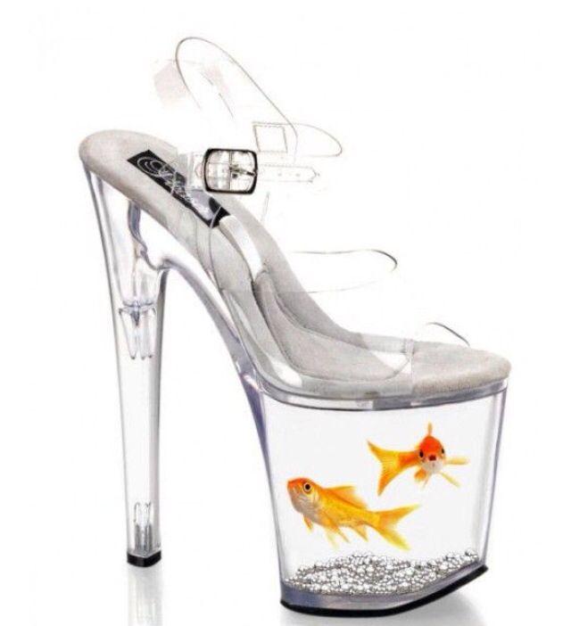 Nu ai loc de un acvariu in casa?? Nicio problema! Acesti pantofi te vor ajuta