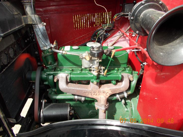 Engine rebuilt by Scholar Engines  Morris Commercial LC3 1939