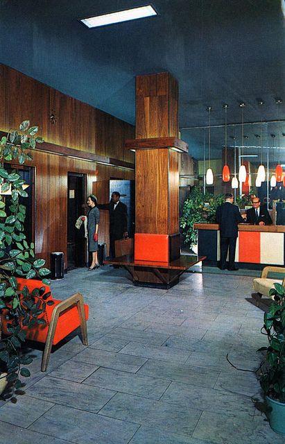 Mansfield Hotel lobby New York NY by Edge and corner wear, via Flickr
