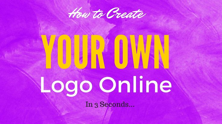 How to Create your Own Logo Online in 3 Seconds