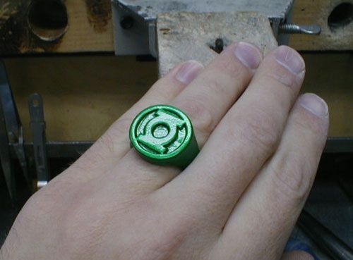 d.i.y. green lantern ring