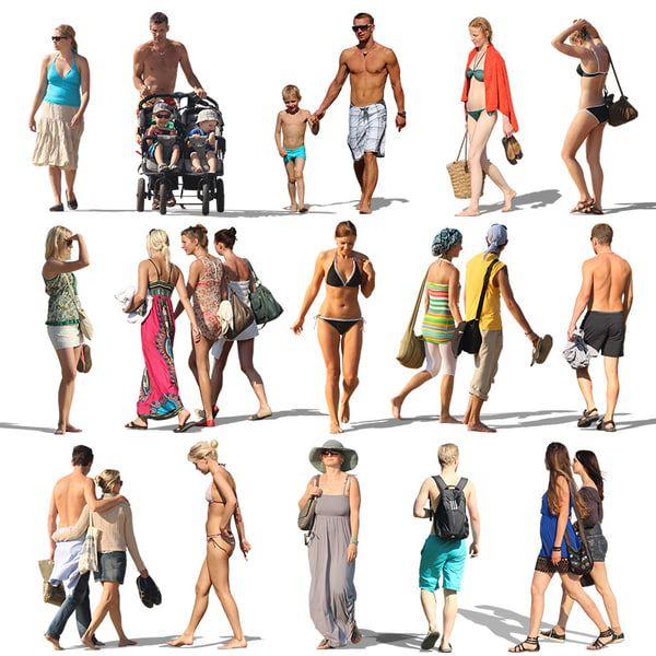 Texture Psd Resort People Beach People Cutout People Png Render People