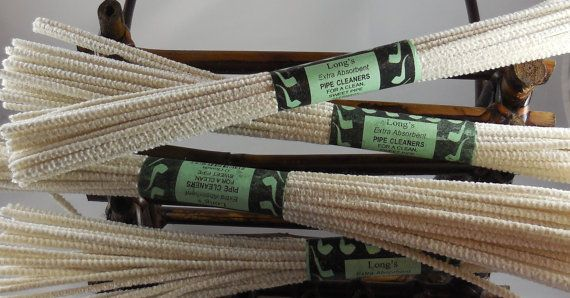 Pipe Cleaners for Extra Long Churchwarden Pipes by FloggleWerks, $2.95