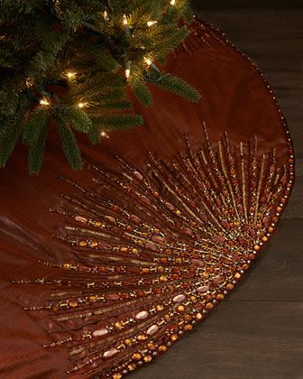 Kim Seybert Spectrum Tree Skirt