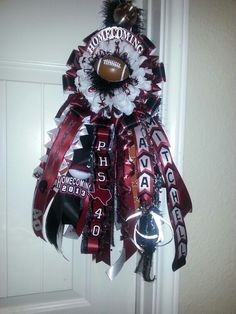 Homecoming Garters (For my son)