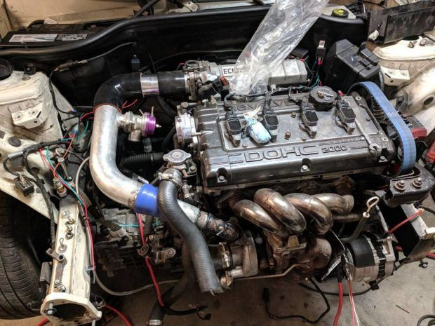 2 0 L 4g63 And Awd Drivetrain From A 1992 Eclipse Gsx Going In A
