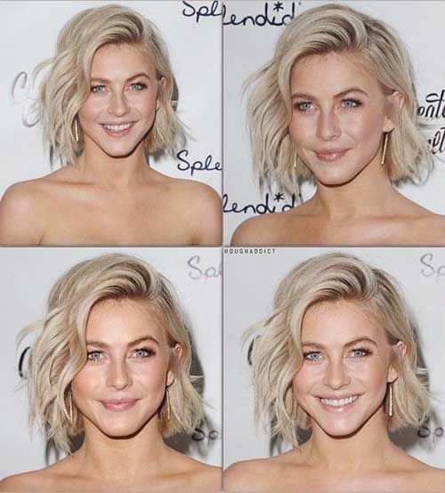 Best Short Blonde Bob