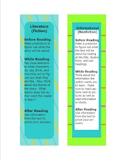 Free Common Core Standards Bookmarks.  Click the blog to access it.