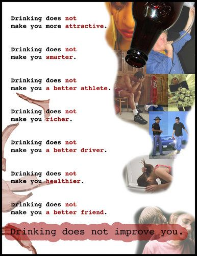 posters to stop underage drinking | poster for campaign to ...