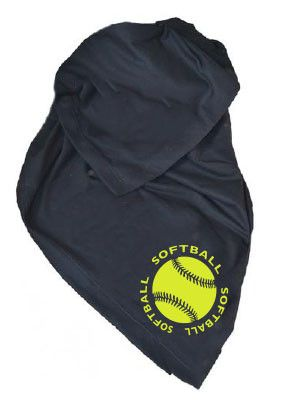Stay warm and have a comfy seat supporting your favorite team with these blankets. Each stadium blanket has a bright yellow softball logo screen printed on the corner. Gildan DryBlend Fleece Stadium B