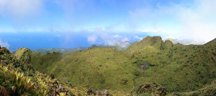 Au sommet de la Montagne Pelée. #Martinique #Antilles #France