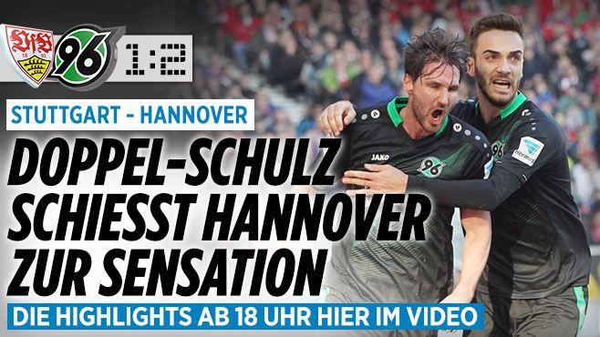 VfB Stuttgart gegen Hannover 96 am 23. Bundesliga-Spieltag - Bundesliga Saison 2015/16 - Bild.de