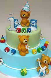 Торт на 1 год мальчику фото