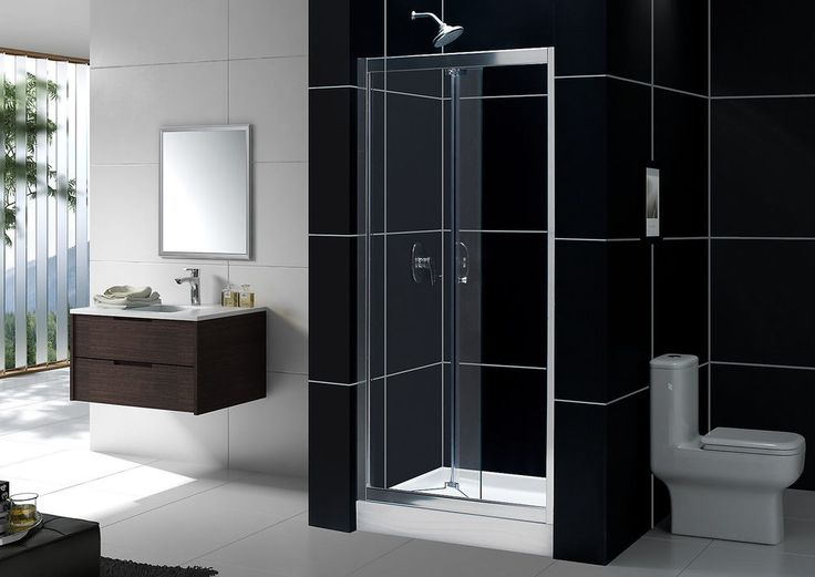 Dreamline Bi Fold Frameless Shower Door Fits 30 To 32