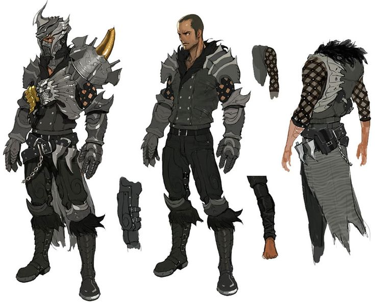 Character Design And Concept Art : Vindictus kai concept of characters