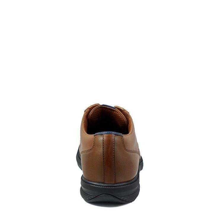 Nunn Bush Men's Marvin Street Medium/Wide Plain Toe Oxford Shoes (Tan Leather)