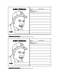 i am jackie robinson activities - Yahoo Search Results ...