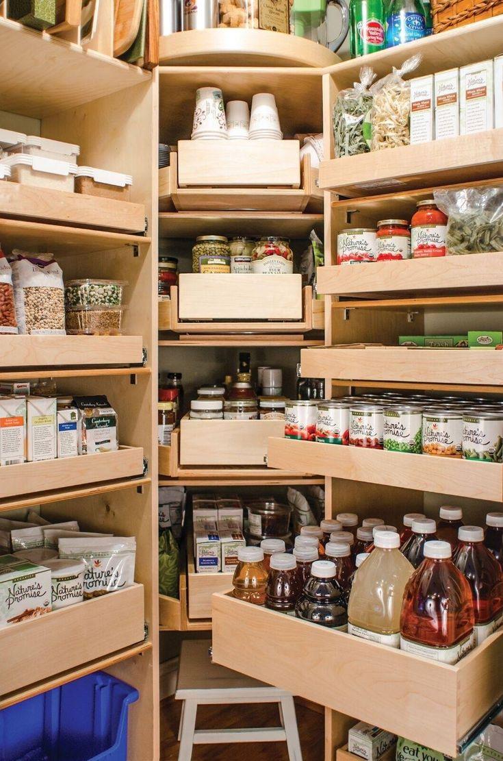 Best 50 Pantry Shelves Ideas On Pinterest Kitchen