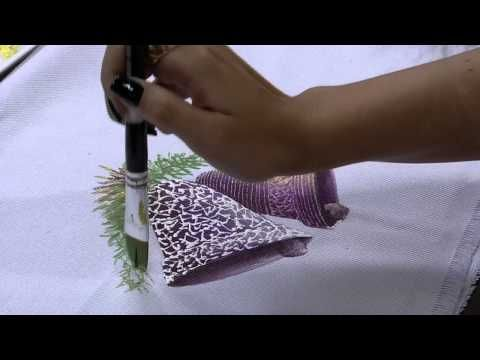 Mulher.com 06/11/2014 - Pintura Texturizada Sinos Natal por Julia Passerani - Parte 2 - YouTube