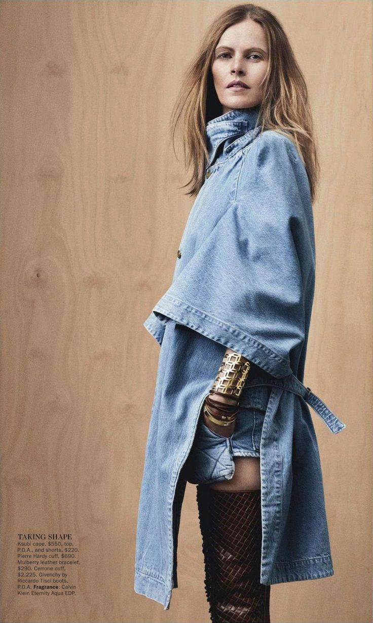 Vogue Australia all denim editorial | MyDubio