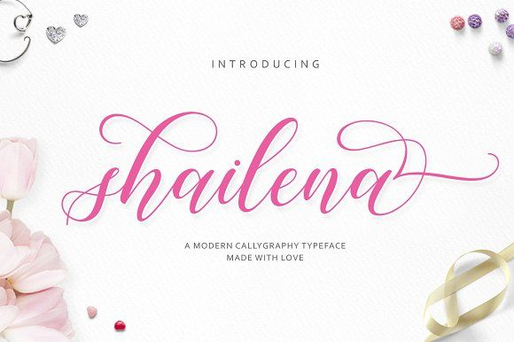 Shailena Script by Jamalodin on @creativemarket