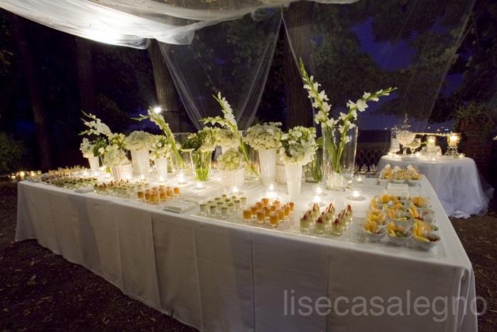 Dettaglio tavolo dolci