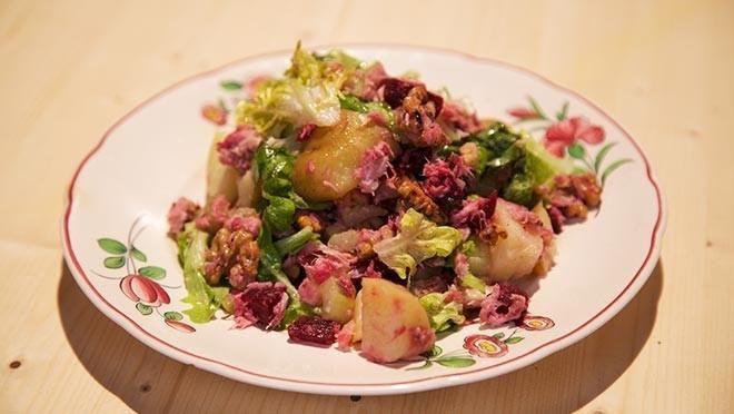 Zomerse salade met makreel en bietjes - De Makkelijke Maaltijd | 24Kitchen