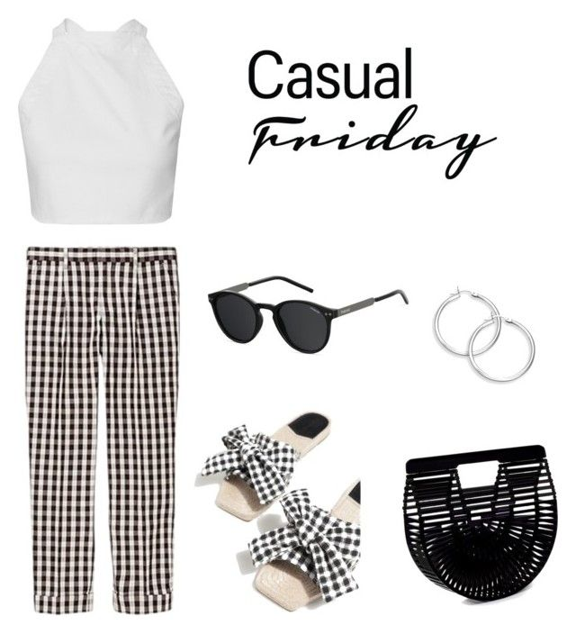 """friday vichy"" by aboutmetheblog on Polyvore featuring Cult Gaia and Polaroid"