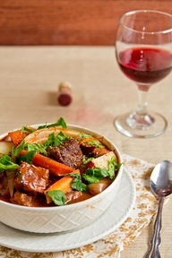 Italian Beef Stew (Crockpot)