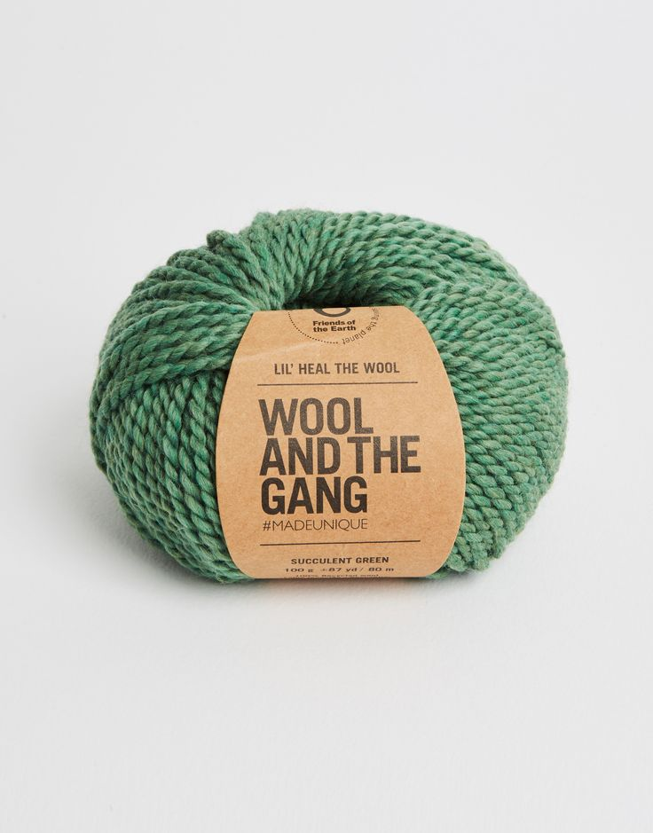 OUR YARNS | Lil' Heal The Wool Succulent Green | @woolandthegang