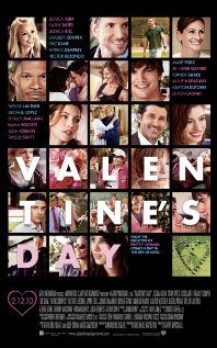 [capsule review] Valentine's Day - Formulaic chick flick that is so unmemorable that I had forgotten I had already seen it.  Still, a pleasant movie to watch while doing other things. (iPad rental, 3/5/12)