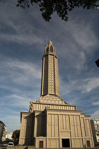 Eglise Saint-Joseph - Le Havre - architecte : Auguste Perret