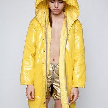 Banana havana coat by DRESSAP