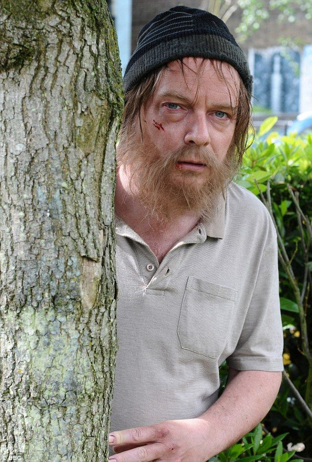 Who's that guy? EastEnders' Ian Beale looks unrecognisable as he returns to Albert Square after sleeping rough for weeks